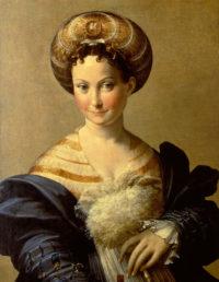Ritratto di giovane donna detto La schiava turca