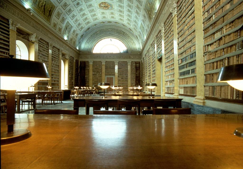 Biblioteca Palatina - Salone Maria Luigia