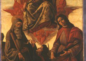 Assunzione della Vergine con i santi Benedetto, Tommaso e Giuliano